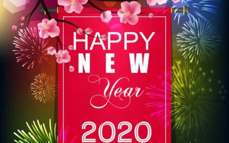 Thiệp Chúc Mừng Năm Mới Bằng Tiếng Anh