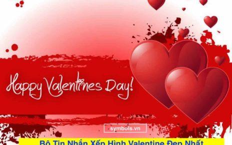 Tin Nhắn Xếp Hình Valentine