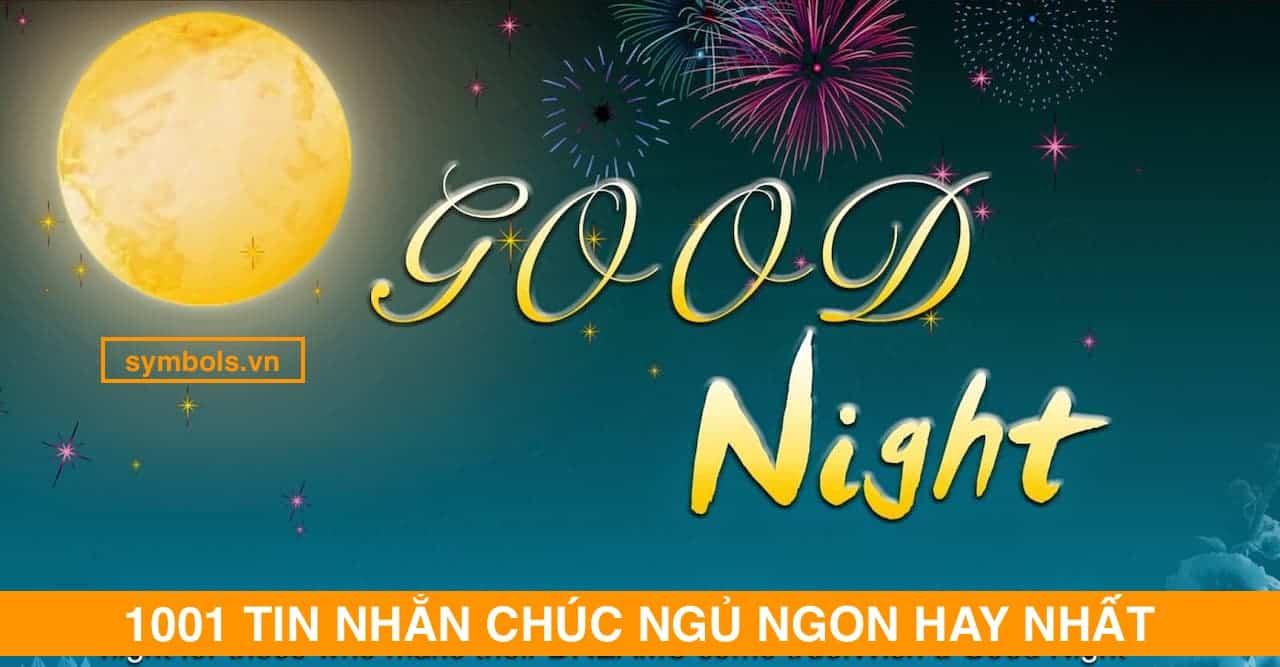 Tin Nhắn Chúc Ngủ Ngon