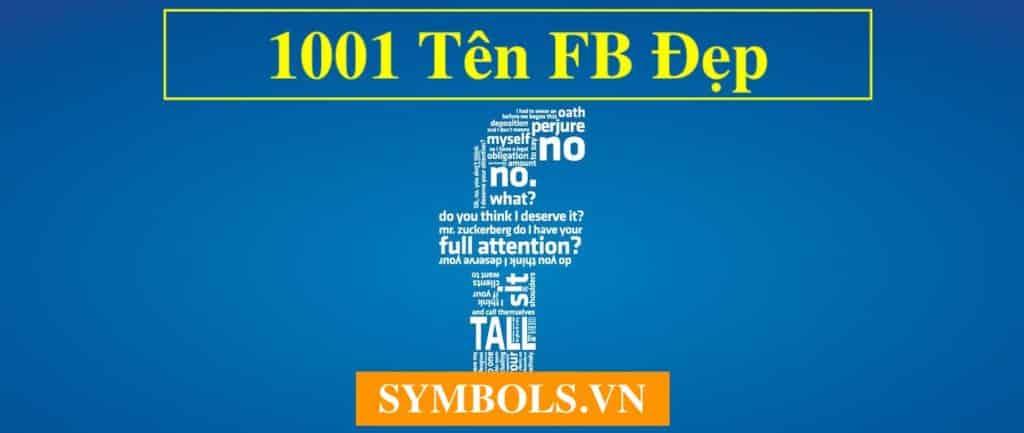 Tên FB Đẹp