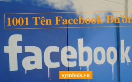 Tên Facebook Buồn