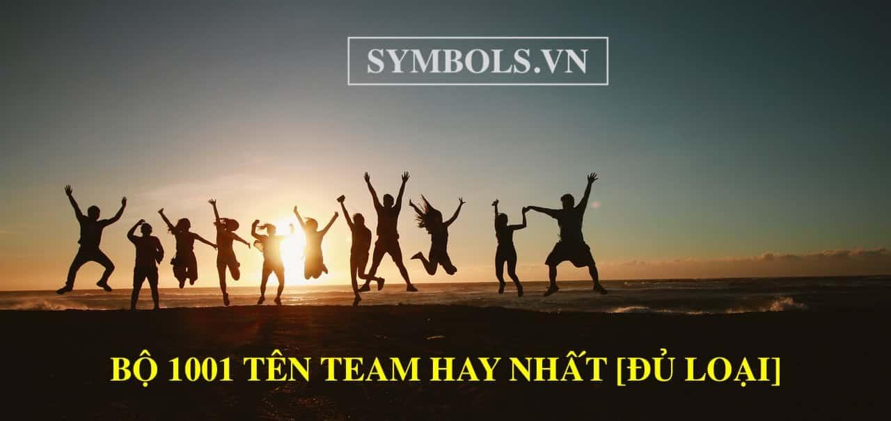 Tên Team Hay Nhất