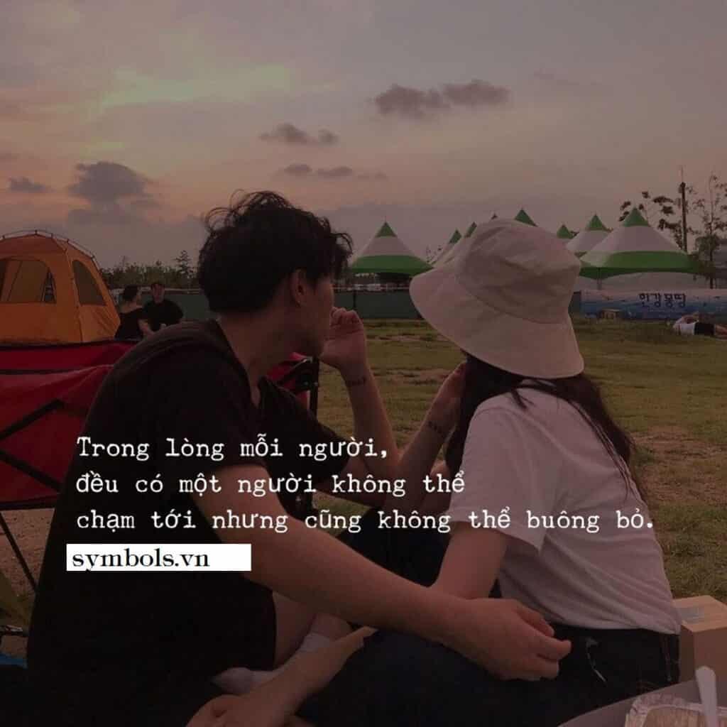 Caption hay về tình yêu đơn phương