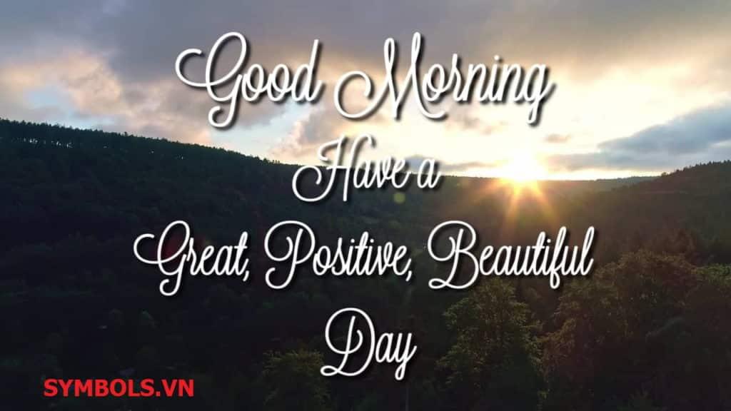 Stt chào ngày mới tiếp thêm sức mạnh và sự lạc quan cho bạn