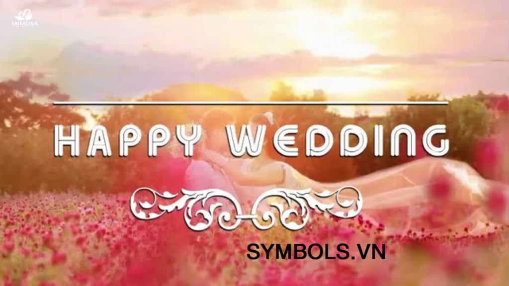 Stt chúc mừng đám cưới ý nghĩa