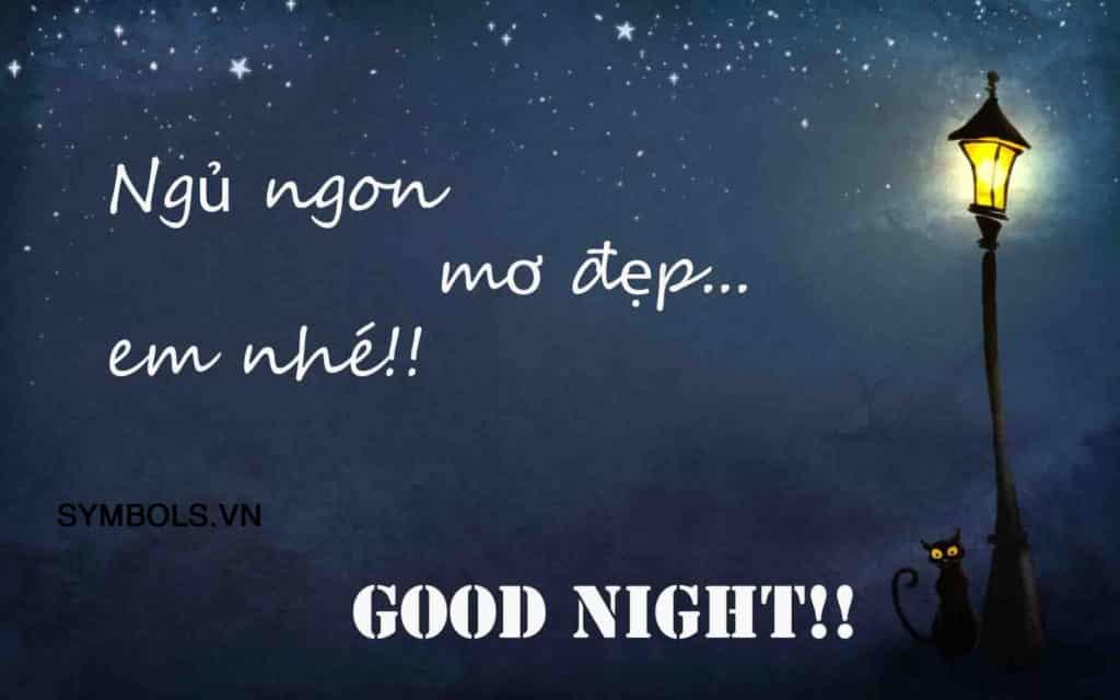 Stt chúc ngủ ngon ngọt ngào và lãng mạn