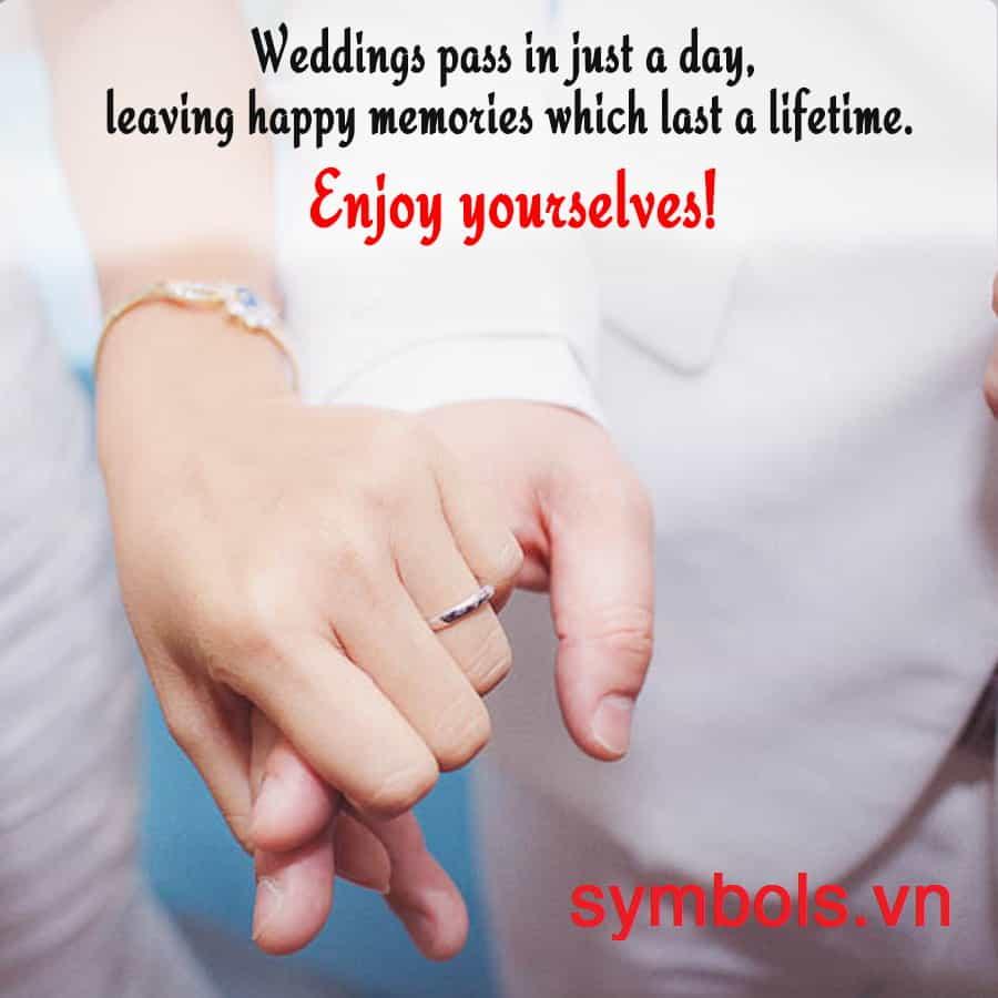 Stt kỷ niệm ngày cưới đầy ngọt ngào và lãng mạn