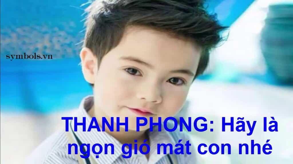 Tên Hán Việt Hay Facebook cho con trai