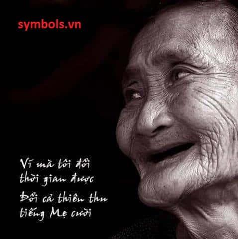 Nụ cười đẹp nhất thế gian chính là nụ cười của mẹ