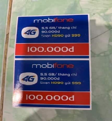Ảnh Card Mobi 100k