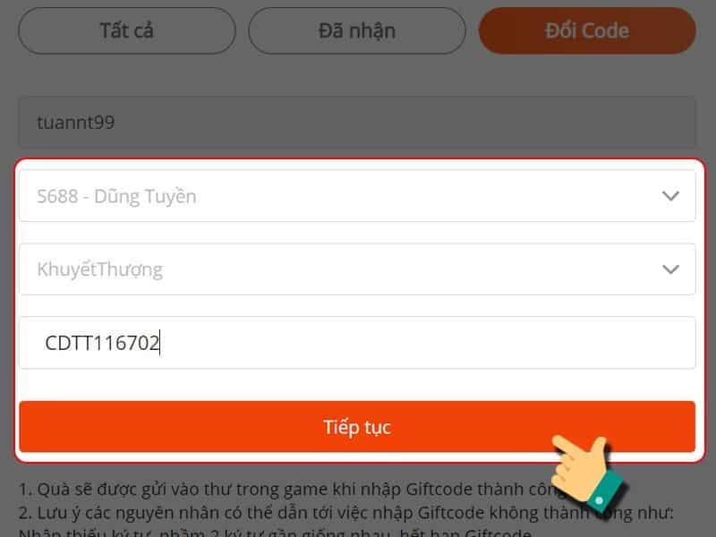 Code Kiếm Ma 3D