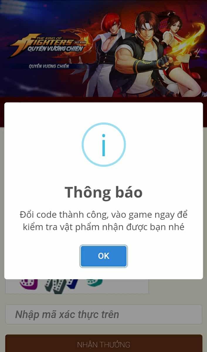 Code Quyền Vương Chiến